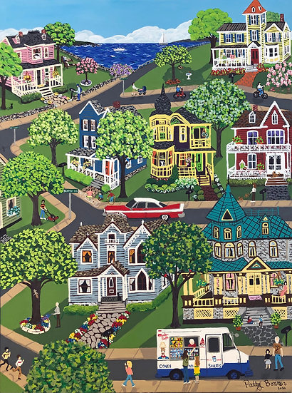 Victorian Hills by Patty Bonner