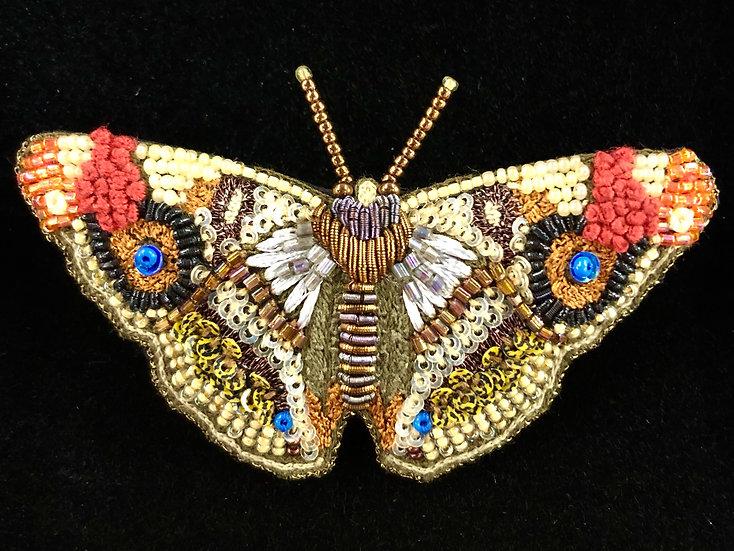 Apatura Iris Brooch