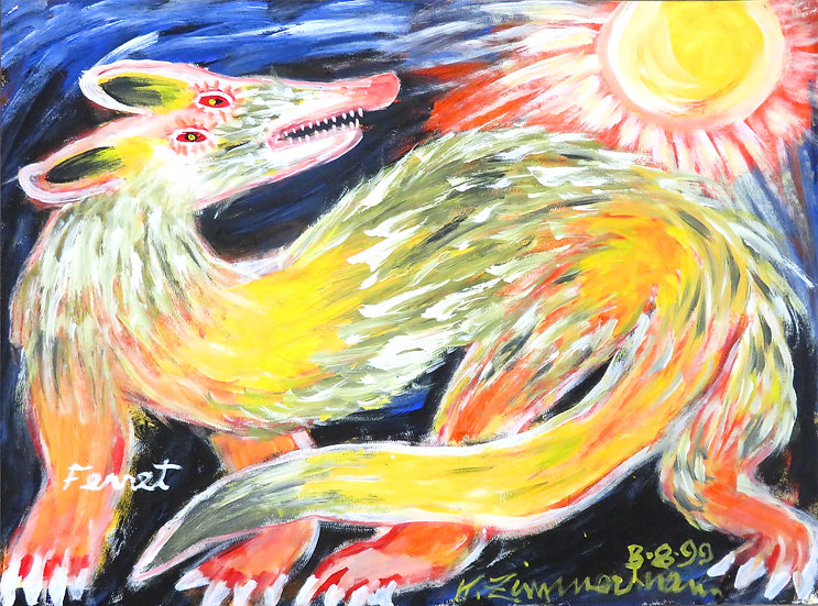 Ferret by Kurt Zimmerman