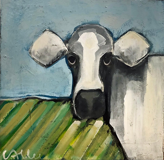 Small Cow by Cecel Allee