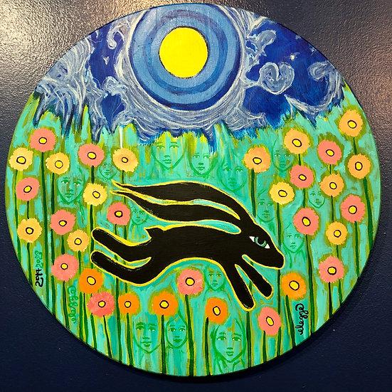Black Bunny by Eric Legge