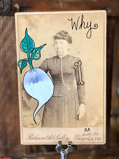 Why Cabinet Card by Butch Anthony