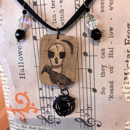 Skull Rosary by Melissa Menzer