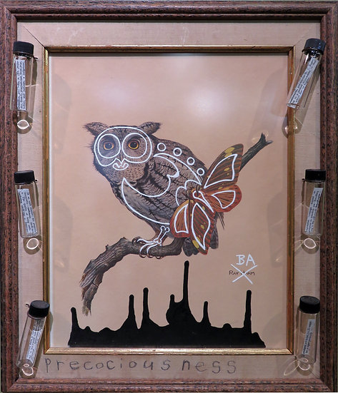 Preciousness (owl) by Butch Anthony