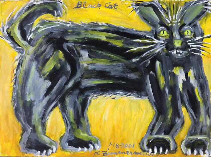 Black Cat by Kurt Zimmerman