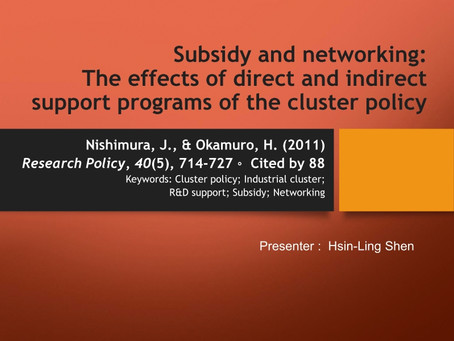 The review of The effects of direct and indirect support programs of...
