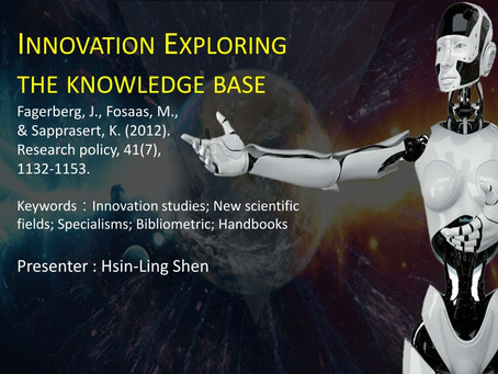 The review of  Innovation: Exploring the knowledge base.