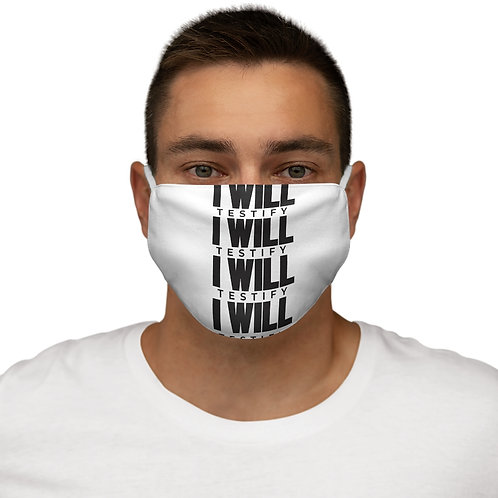 I Will Face Mask