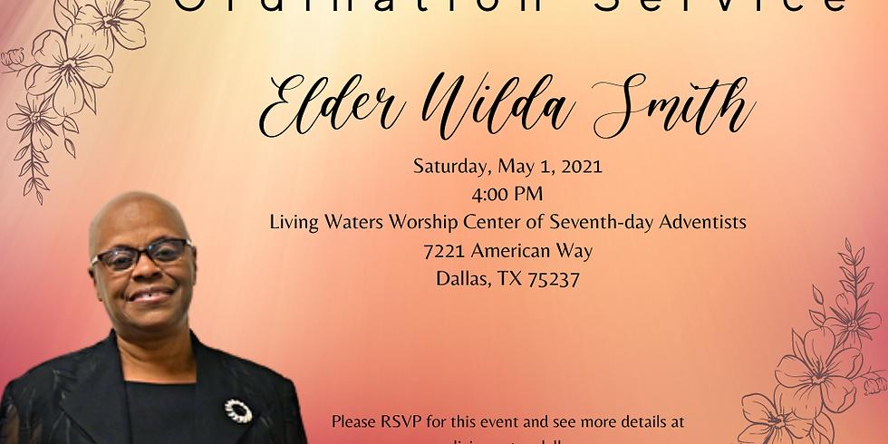 Elder Wilda Smith's Ordination