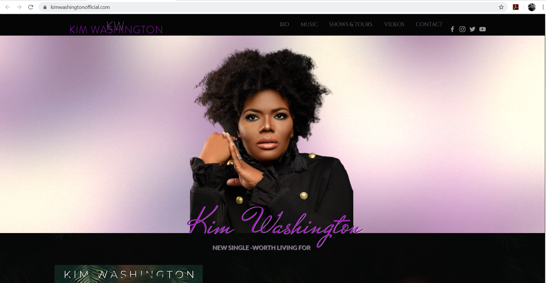Kim Washington