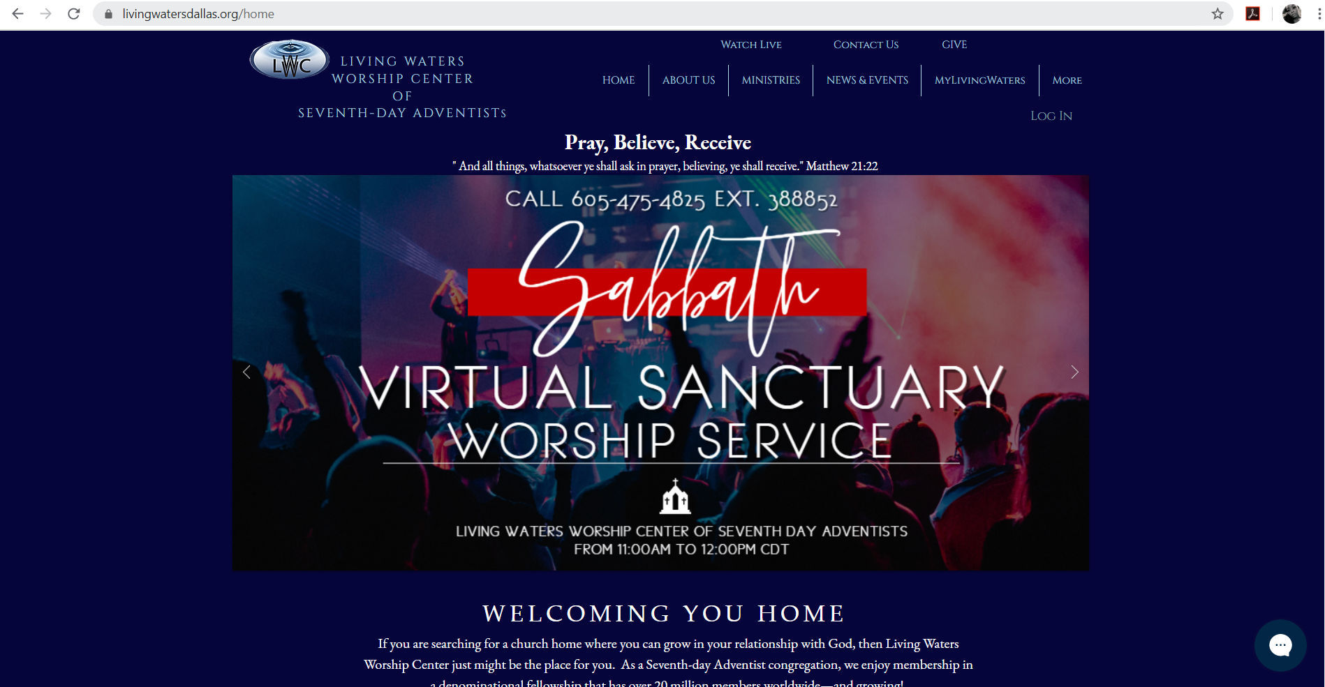 Living Waters Worship Center