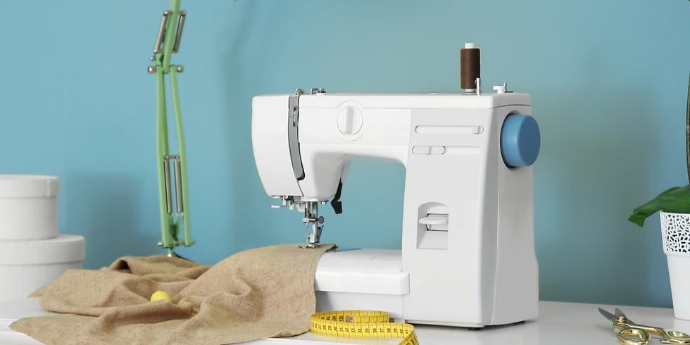 BEGINNERS SEWING MACHINE | VIRTUAL WORKSHOP | £5