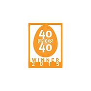 2015 Perspective 40 Under 40 Award 2015.