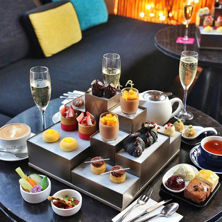 W Hotel Afternoon Tea Stand
