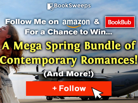 CONTEST for new Amazon and BookBub subscribers