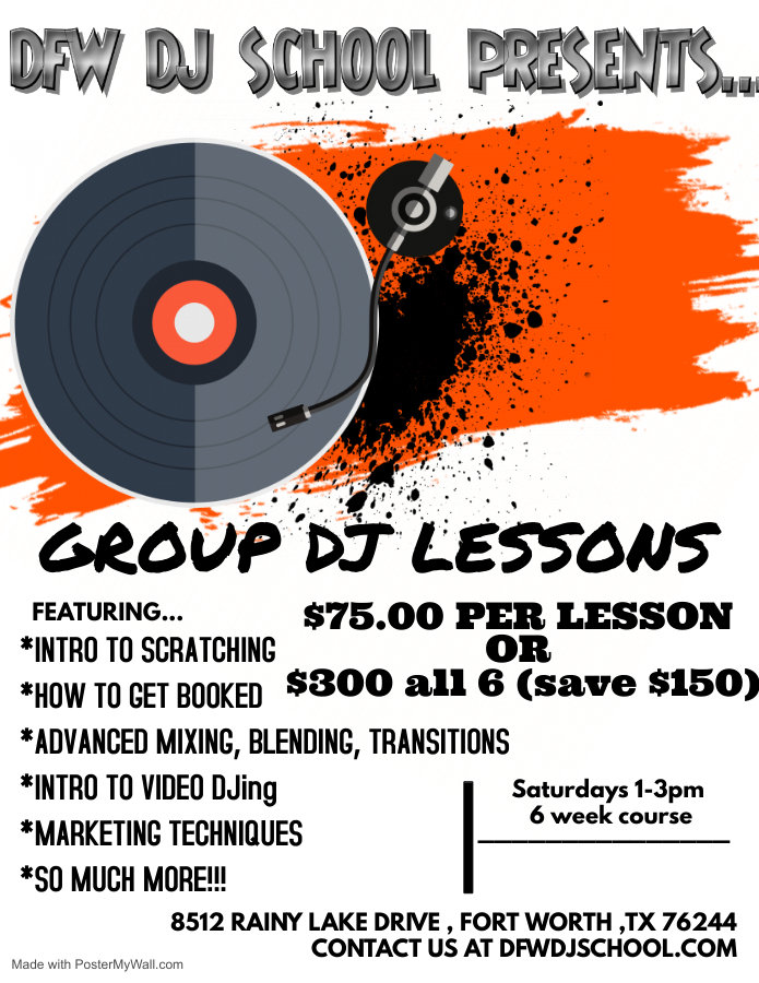 DFW DJ School Group Lessons