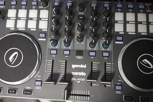 Gemini Slate 4 - 4 Channel Serato DJ Intro Controller