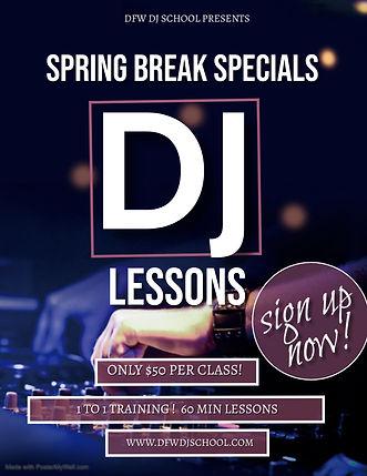 Copy of DJ Training course school Flyer