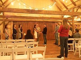Fort Worth Wedding DJ - Hollow Hill Farm & Event Center