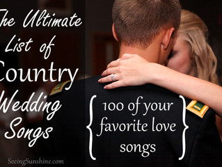 The Ultimate List of Country Wedding Songs
