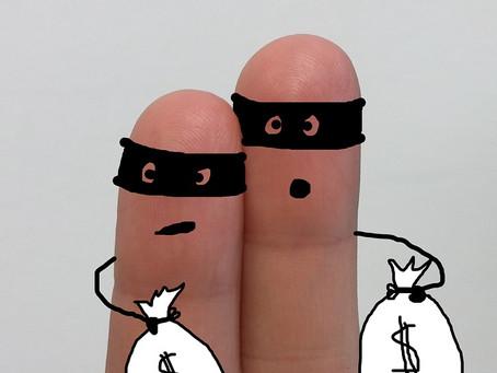 Os ladrões da sua paz