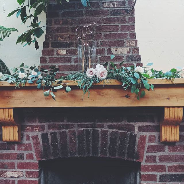 Romantic Mantle Installation