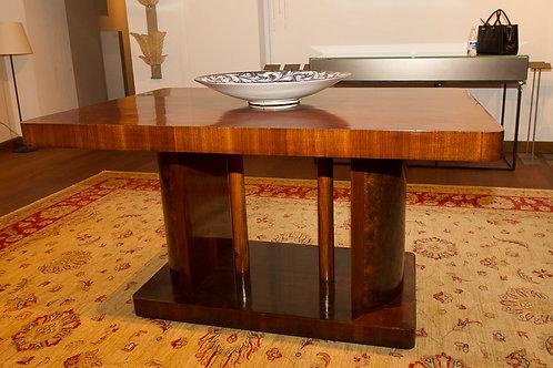 Grande tavolo anni '30-'40, ultimo decò', stile mussoliniano