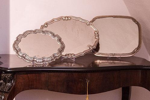 Vassoio in argento '900 (400€ - 480€ - 560€)