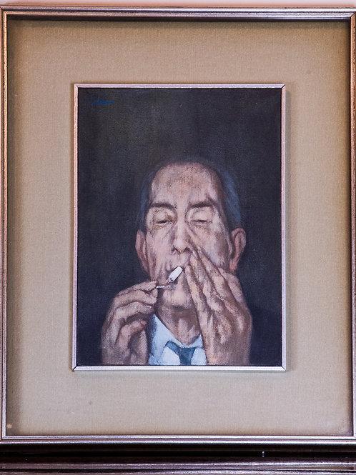 Luciano CALDARI - Il Fumatore