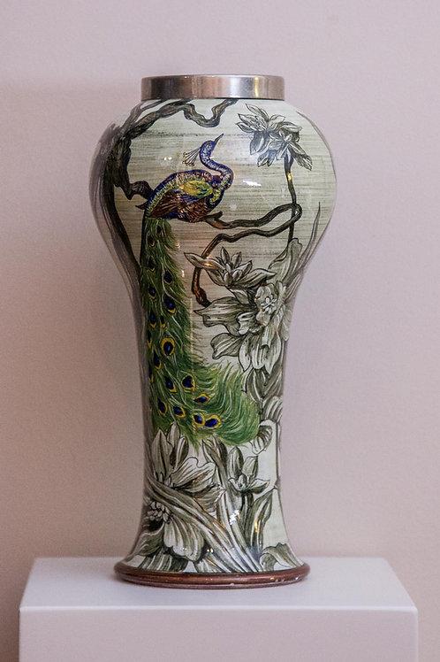 SOCIETA' CERAMICA COLONNATA (Sesto Fiorentino) vaso a stelo