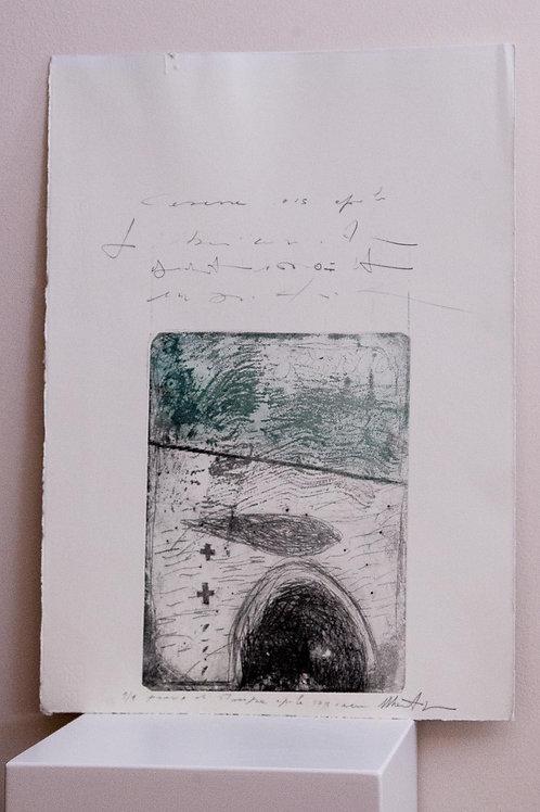 """Dalla serie """"Cartografie"""" - grafica - MAURO PIPANI"""