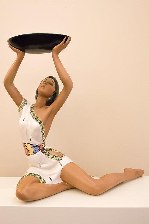 LE BERTETTI Figura indiana - Ceramica n.75, epigono LENCI