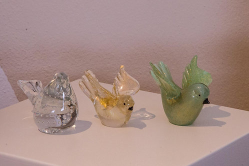 Manifattura Muranese - Uccellini in vetro