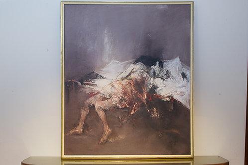 """Figura sdraiata"" - GIOVANNI CAPPELLI (Cesena, 1923 – Milano 1994)"