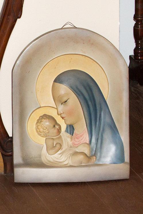 GUIDO CACCIAPUOTI (Milano, 1892-1953) Madonna con bambino