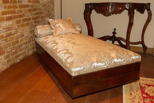 Divanetto - Dormeuse Damascat, decò, primo '900