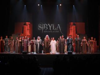 V Bratislave uviedli muzikál Sibyla, kráľovná zo Sáby s Hůlkom i Csákovou