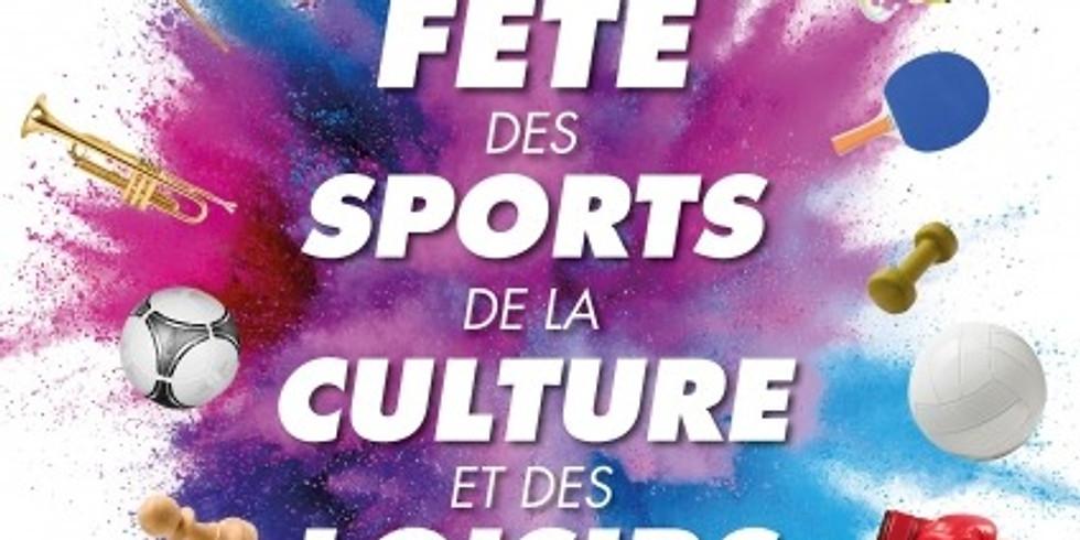 Fête des sports, de la culture et des loisirs 2020
