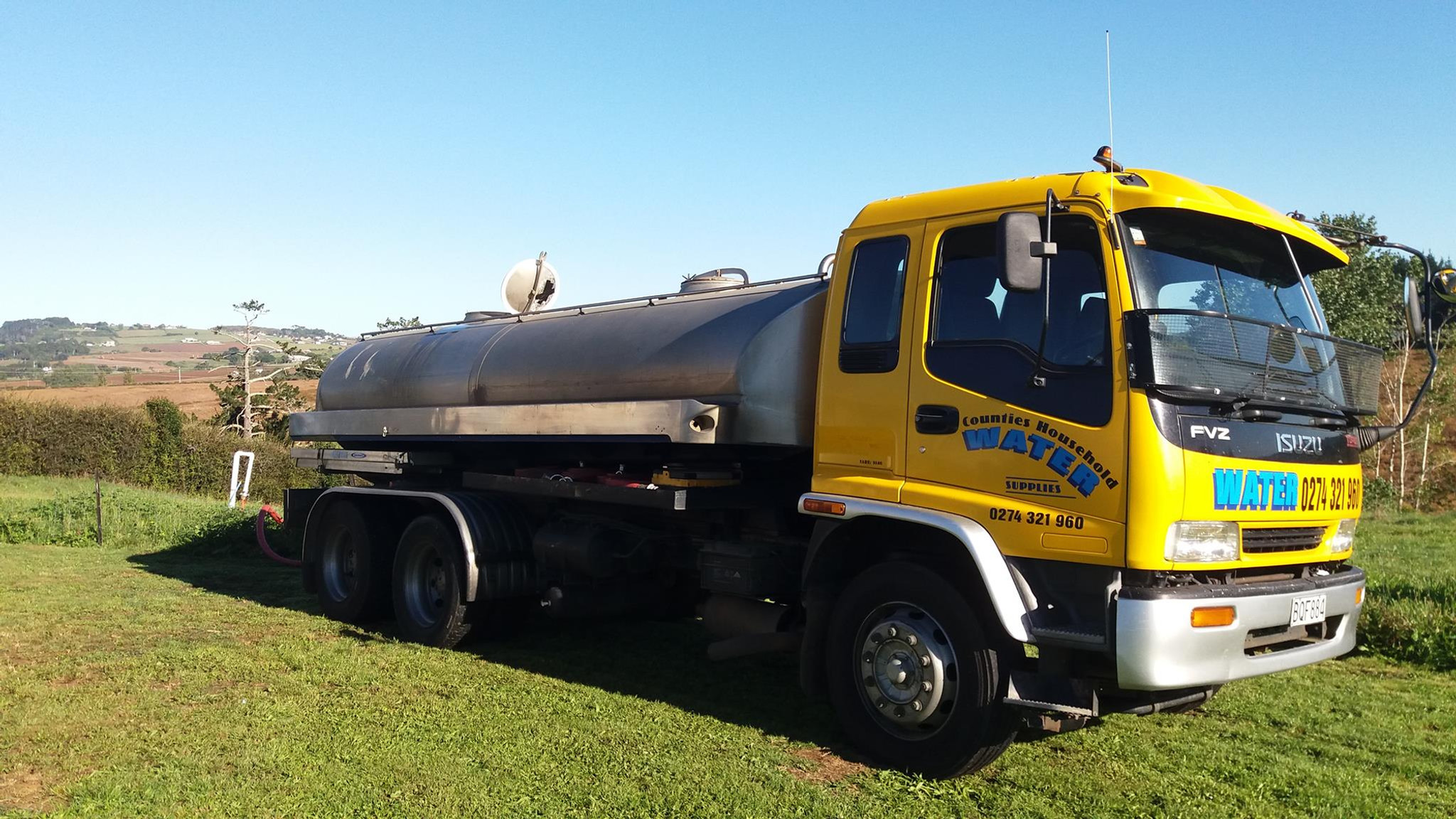 Water Cartage | Counties Household Water Supplies | Pukekohe