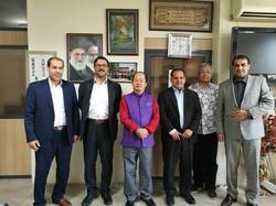Reception in Shiraz, Iran
