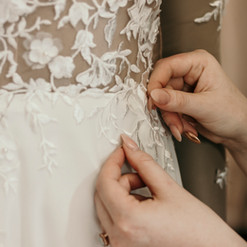 Hanrie Lues South African wedding dress designer