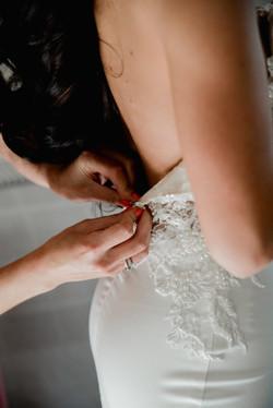 Hanrie Lues custom bridal gowns