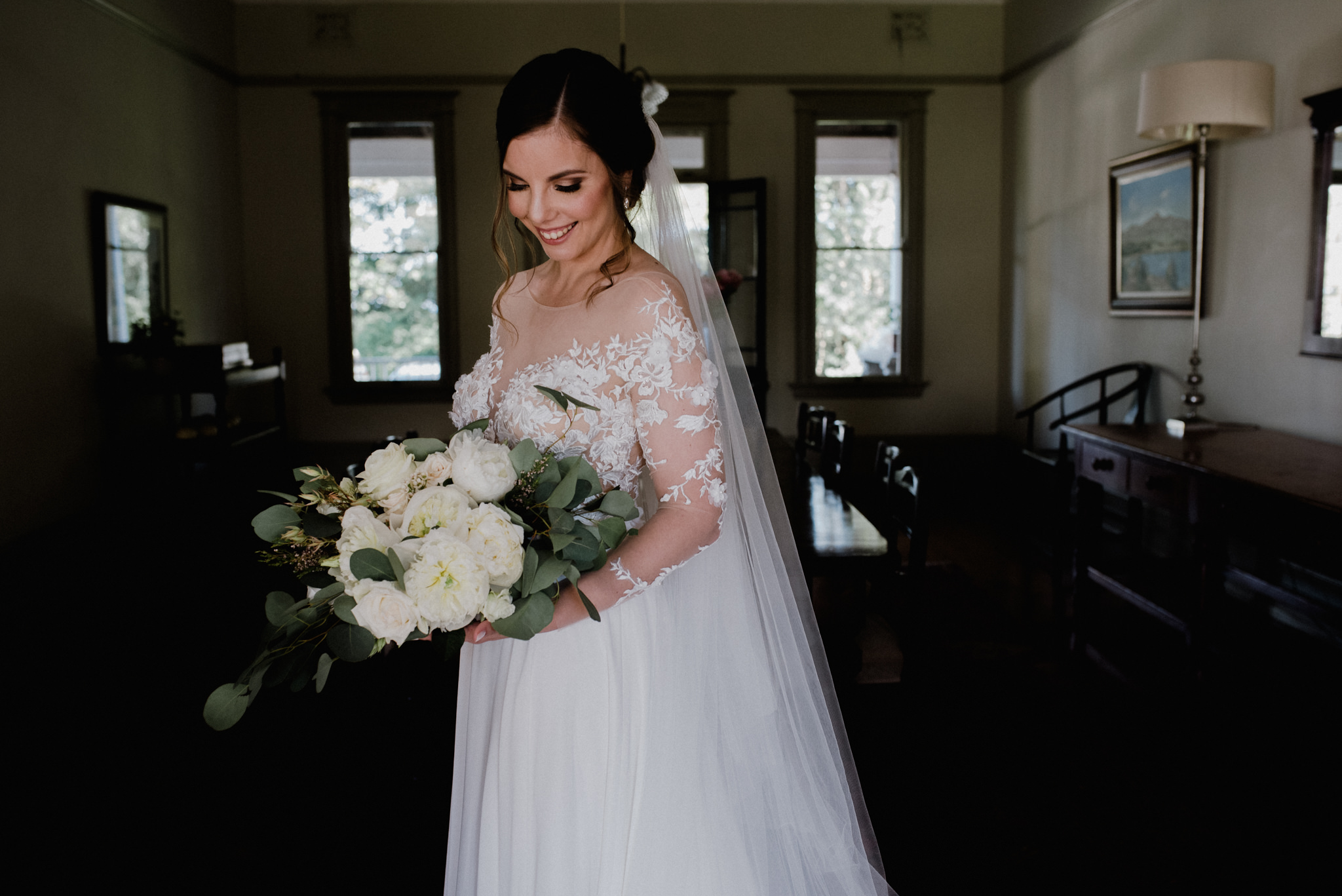 Hanrie Lues wedding dress designer