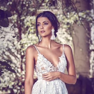 Hanrie Lues Bridal Wedding Gown