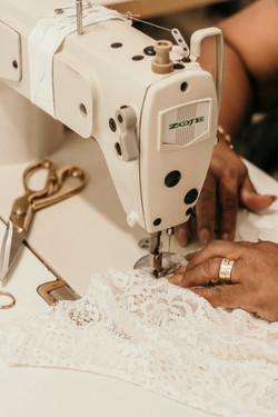 Hanrie Lues wedding dress designer