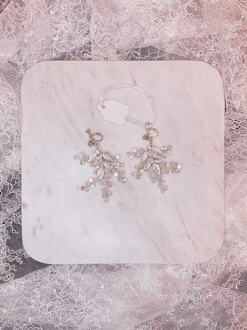 Constellation silver earrings