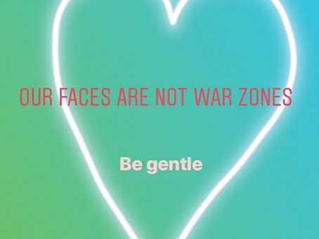 Your Skin Is Not a War Zone