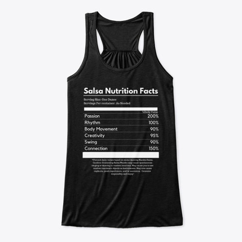 Salsa Nutrition Facts Flowy Tank Top