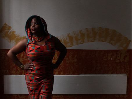 Daughter of the Diaspora Dress- Kente Cloth Print Project Rationale