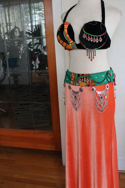 Ankara/Hamsa Bellydance Costume